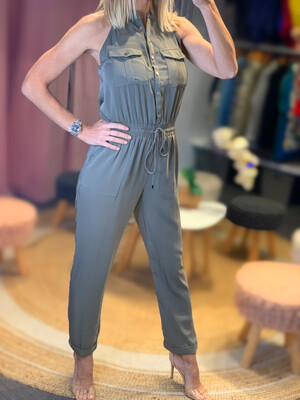 Military Chic Jumpsuit