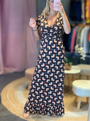 V-Neck Fluity Dress (SPF 50+)