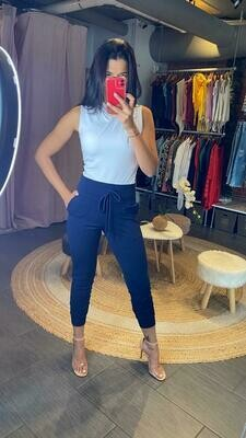 High Waisted cropped Pants