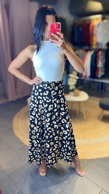 Long Skirt with belt - One size
