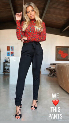 Power High-Waisted Skinny Pants