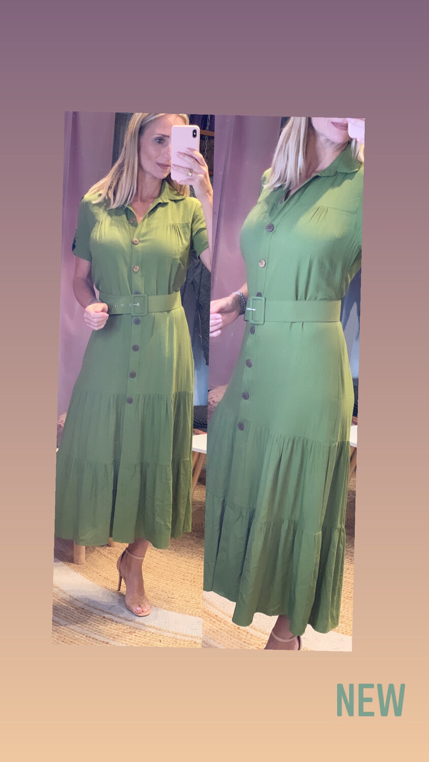 Button Fronted Dress