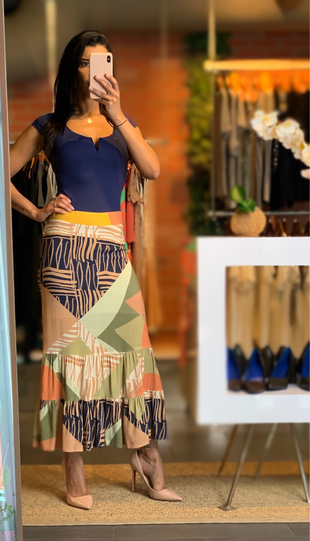 Maxi Viscose Skirt