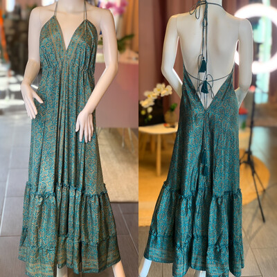 Open Back Silk Dress (one size fits all)