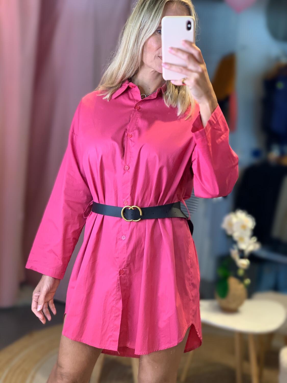 Button Up T-Shirt Dress