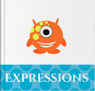 Booky Wooky Board Books 'Expressions'