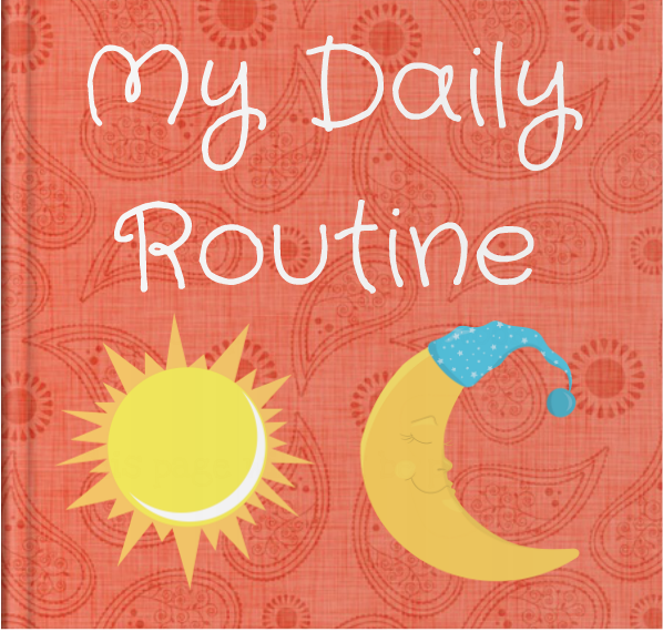 Booky Wooky Board Books 'My Daily Routine'
