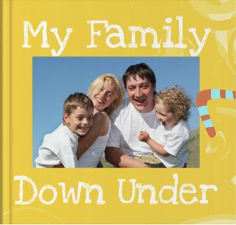 Booky Wooky Board Books 'My Family in Oz'