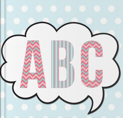 Booky Wooky Personalised Board Books 'ABC'