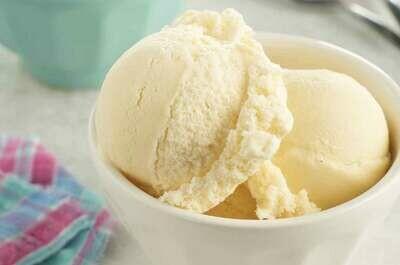 Înghețată cu vanilie