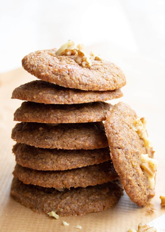 Cookie cu banane si nuci low-carb