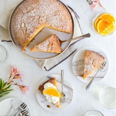 Aperitiv cu Campari, portocale si ulei de masline