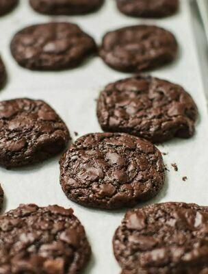 Cookie cu bucati de ciocolata