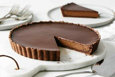 Tarta cu ciocolata si trufe keto