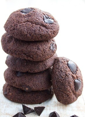 Keto cookie cu ciocolata low-carb