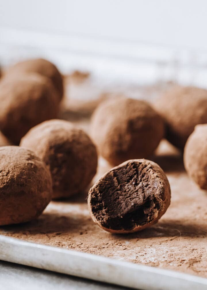Trufe de ciocolata keto fara zahar