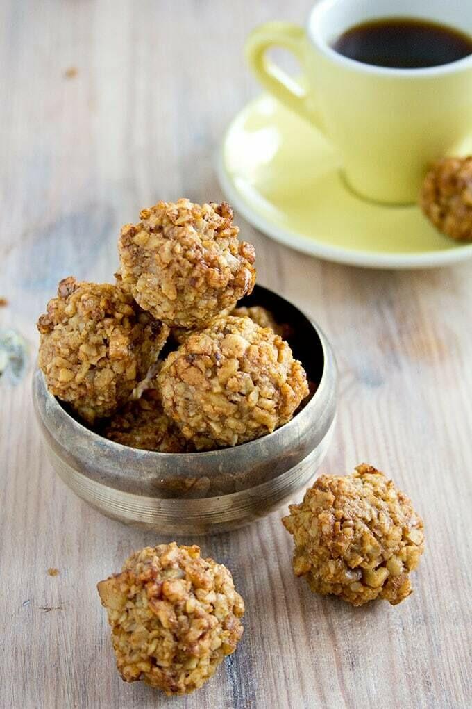 Cookie cu nuci low-carb