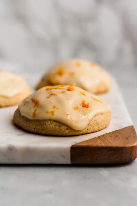 Cookie cu portocale