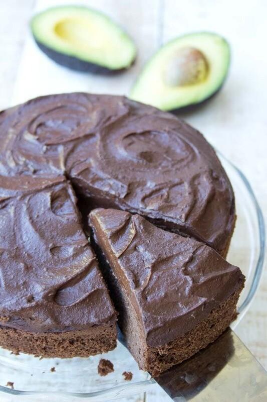 Tarta cu avocado si ciocolata keto