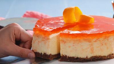 Cheesecake cu Prosecco si Aperol