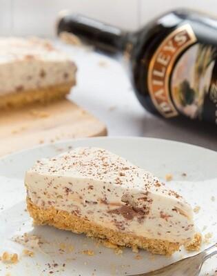 Cheesecake cu ciocolata si Baileys