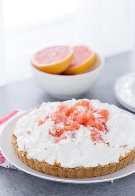 Tarta cu grapefruit