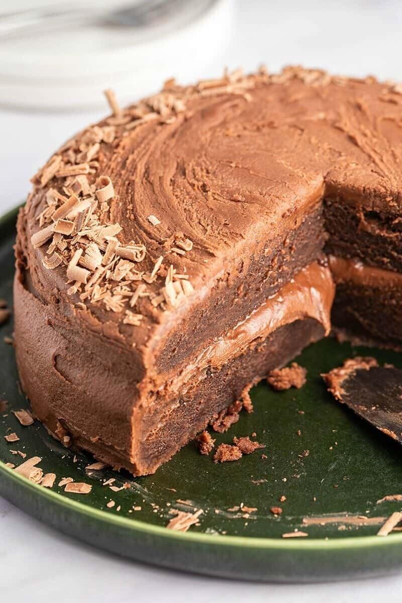 Tort ciocolata keto (fara lactate)