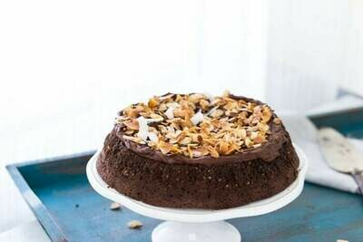 Tort artizanal de ciocolata cu cocos