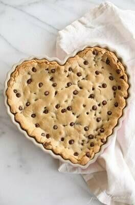 Cookie gigant inima