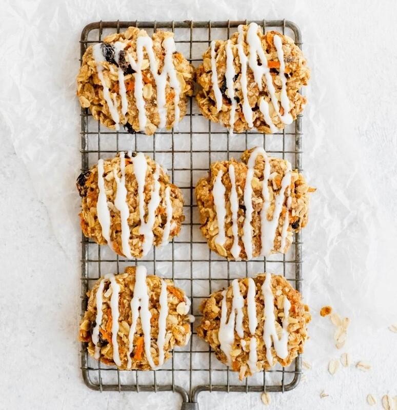 Cookie cu morcovi si fulgi de ovaz