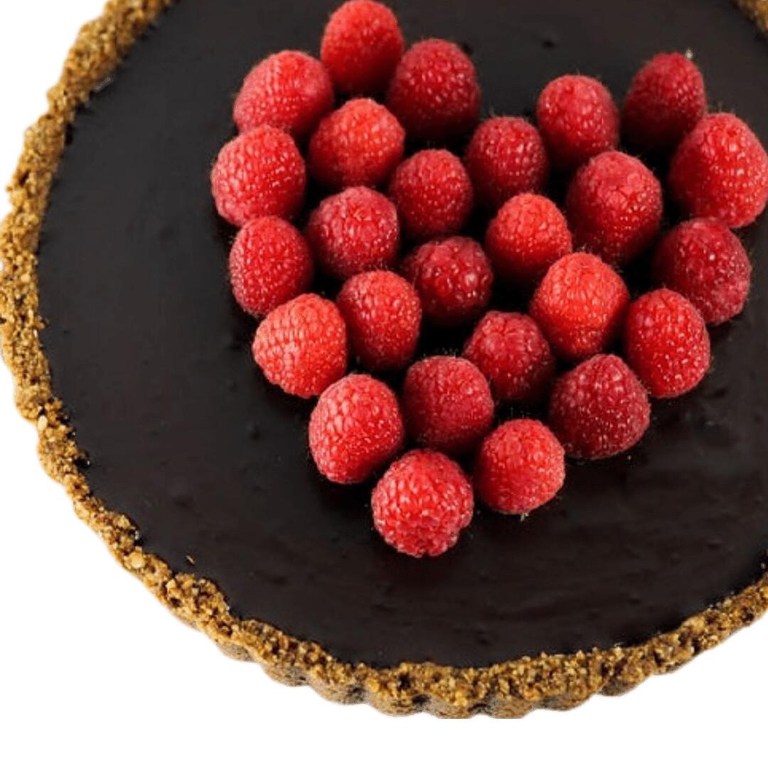 Tarta de ciocolata cu zmeura low-carb