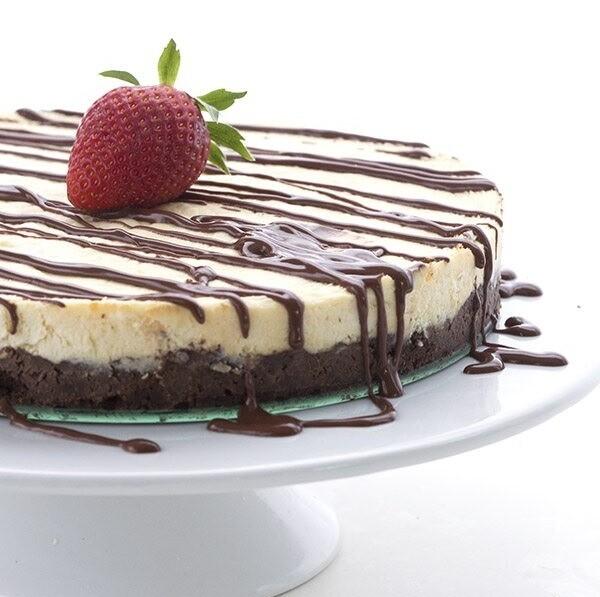 Brownie Cheesecake Keto