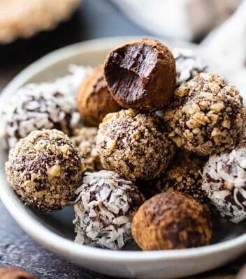 Mix trufe de ciocolata artizanale