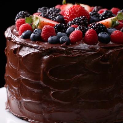 Tort de ciocolata fudgy