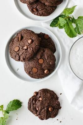 Cookie cu ciocolata si menta