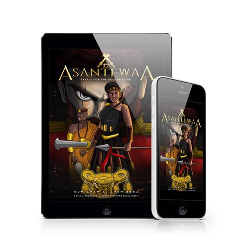 Asantewaa - Digital Comic Book