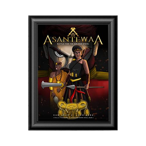 Asantewaa Wall Poster Frame