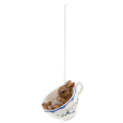 Hanger konijn in kopje