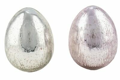 Ei staand zilver klein