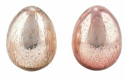 Ei staand zalm medium