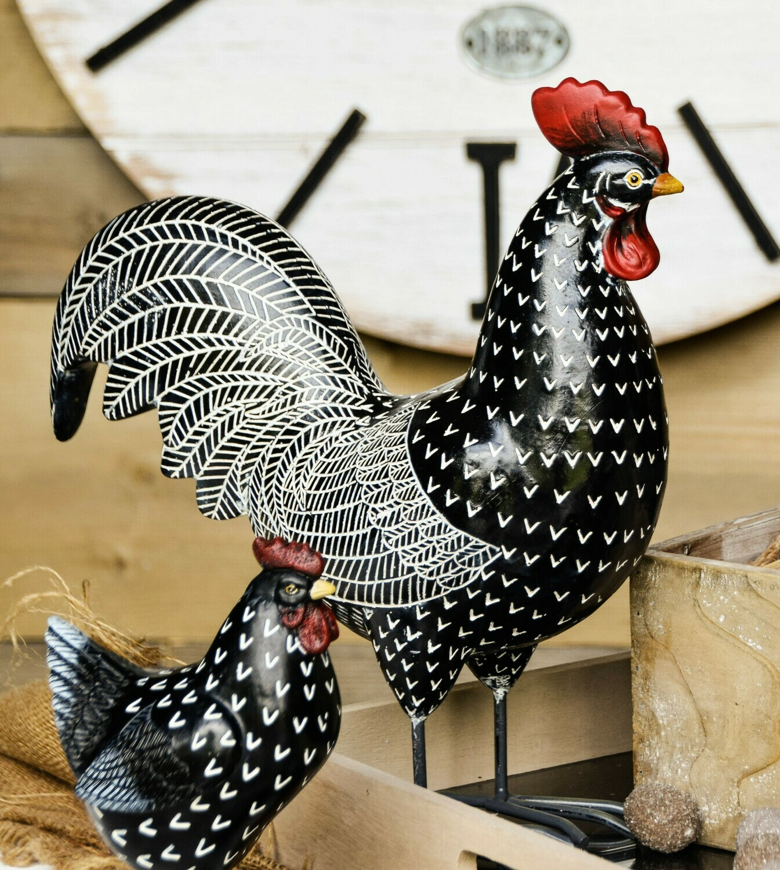 Kip zwart
