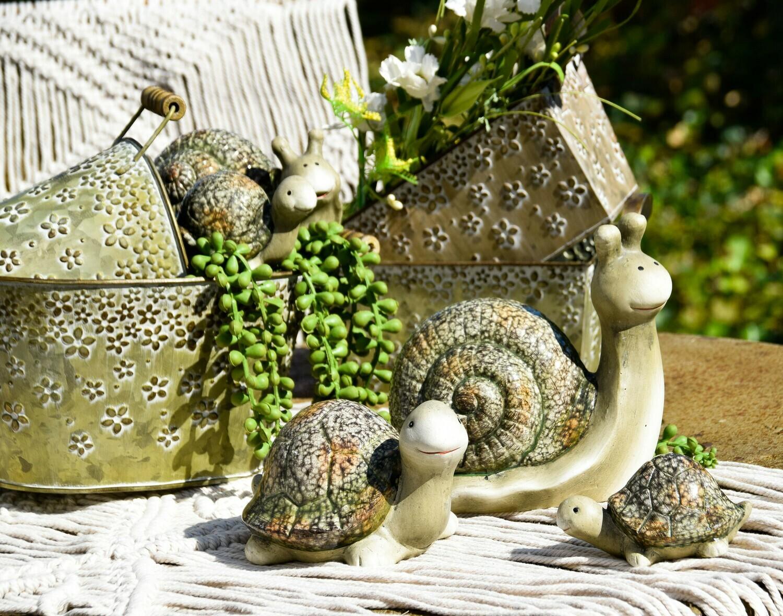 Slak groen marbre groot