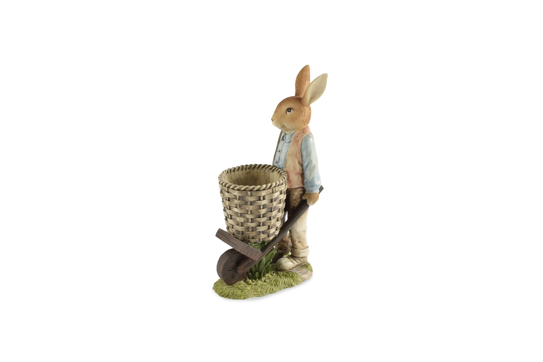Bunny met mand vintage