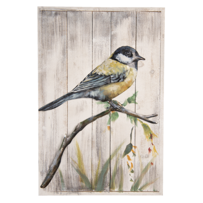 Wanddecoratie vogel