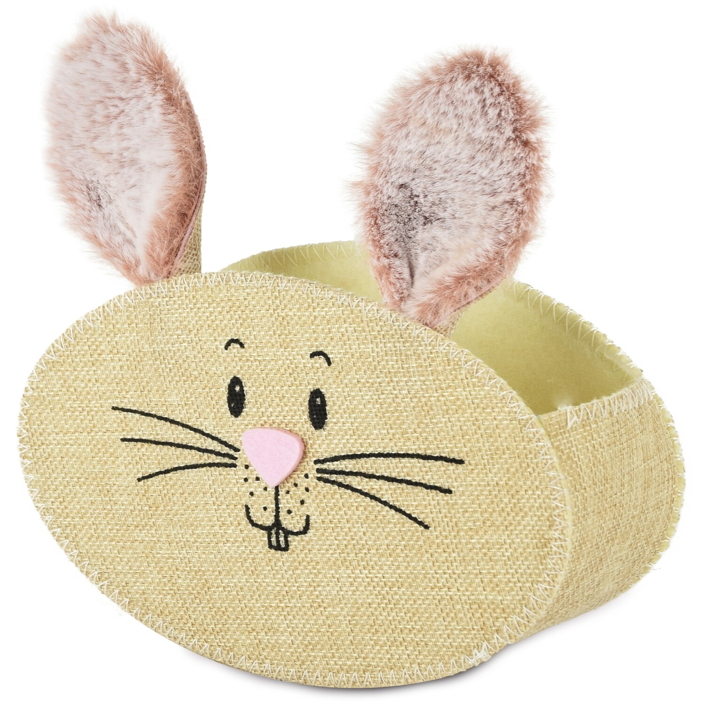 Zakje jute 'Round bunny'