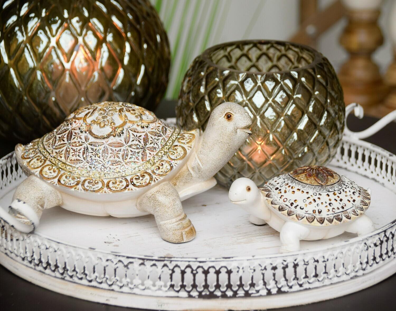 Set 2 schildpadden 'Glam'