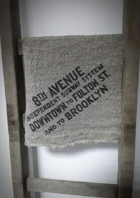 Doek shabby Avenue 45 x 45 cm