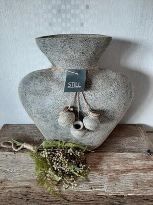 Oval Vase Rustic L