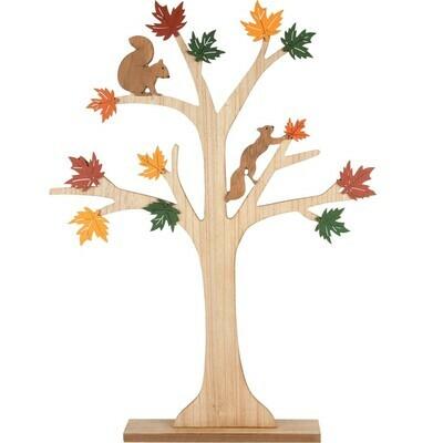 Decoboom herfst hout