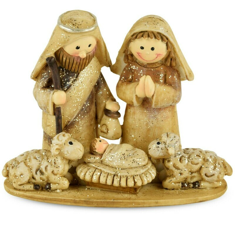 Ensemble kerststalfiguren